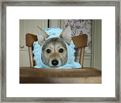 A Father's Joy Framed Print by Ross Powell