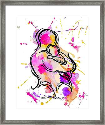 A Father's Love Framed Print by Diamin Nicole
