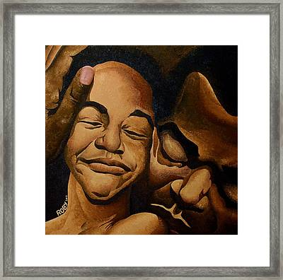 A Father's Love Framed Print by William Roby