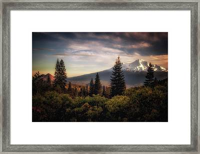 A Favorite View Framed Print