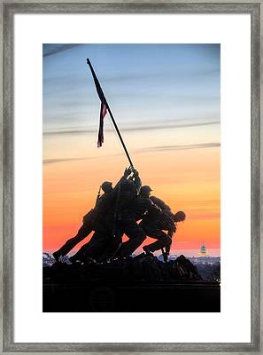 A Few Good Men Framed Print