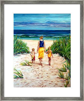 A Few Of My Favorite Things Framed Print by Suzanne King