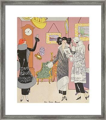 A Few Pretty Novelties Framed Print by Art Gout Beaute