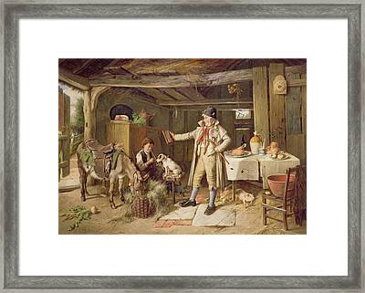 A Fine Attire Framed Print by Charles Hunt