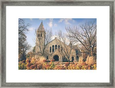 A Fine Autumn Day Framed Print