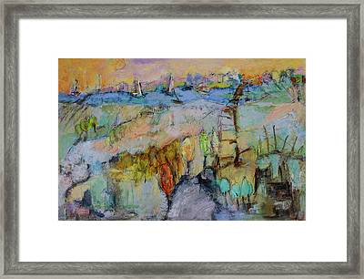 A Fine Day For Sailing Framed Print