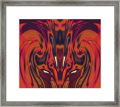 A Firebird Emerged From Your Equanimity 2015 Framed Print by James Warren