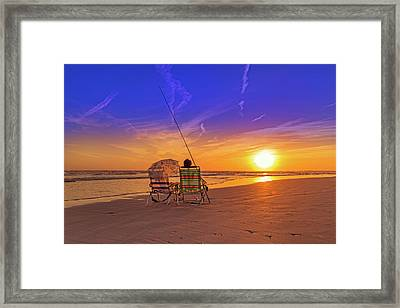 A Fisherman's Life Framed Print