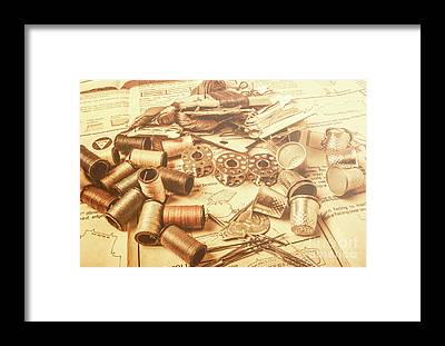 Sewing Machines Framed Prints