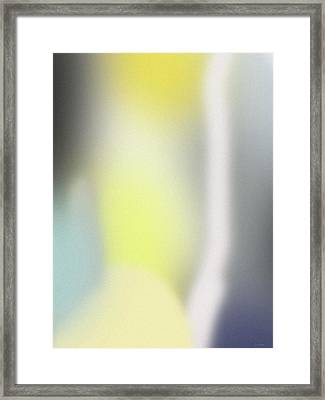 A Fleeting Glimpse 1- Art By Linda Woods Framed Print by Linda Woods