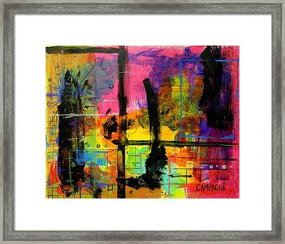 A Fleeting Thought Framed Print by Teddy Campagna