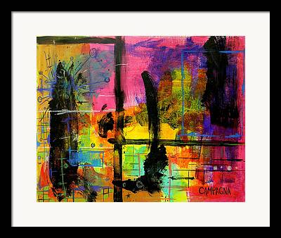 Oil Pastel Framed Prints