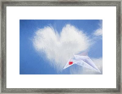A Flight Of Fancy Framed Print