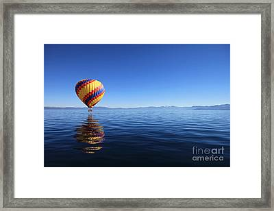 A Flight To Remember Framed Print