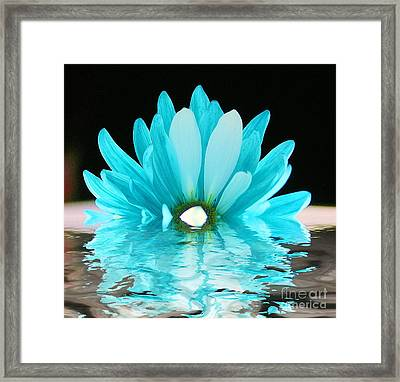 A Float Framed Print