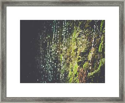 A Flowing Rock Framed Print