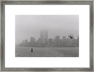 A Foggy Day Framed Print by Alex Kantor