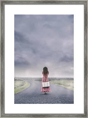 A Foggy Morning Framed Print by Joana Kruse