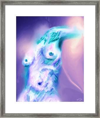 A Foggy Night Framed Print by Shelley Bain