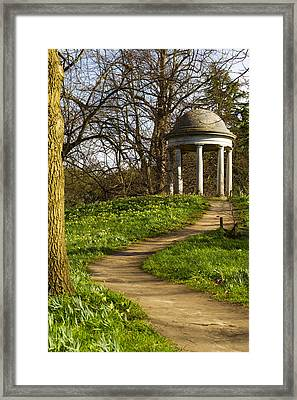 A Folly In Kew Framed Print by David French