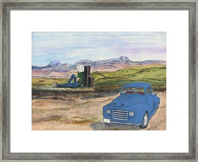 A Ford Framed Print
