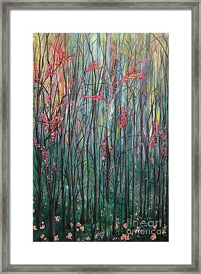 A Forest Framed Print by Heather McKenzie