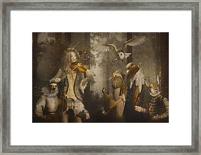 A Forest Overture Framed Print by Rosemary Smith