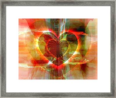 A Forgiving Heart Framed Print