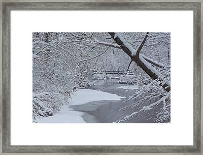 A Forgotten Place Framed Print by Frozen in Time Fine Art Photography