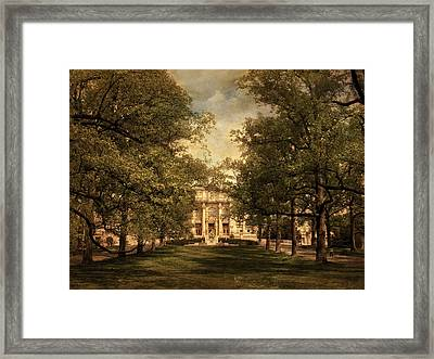 A Formal Passage Framed Print