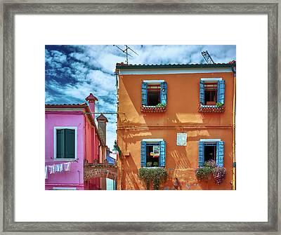 A Fragment Of Color Framed Print