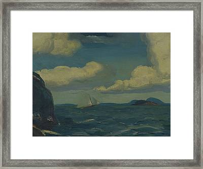 A Fresh Breeze Framed Print