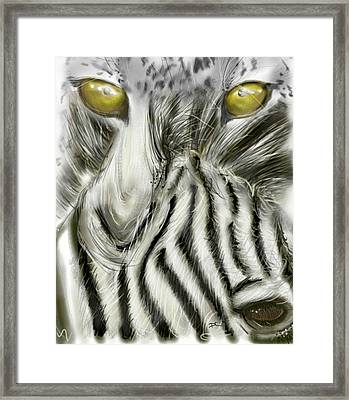 A Friend For Lunch Two Framed Print