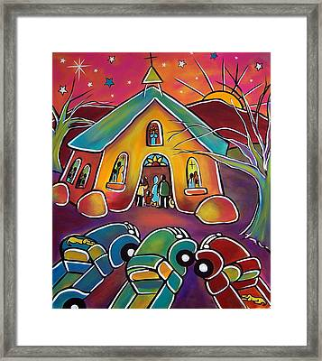 A Full House Framed Print
