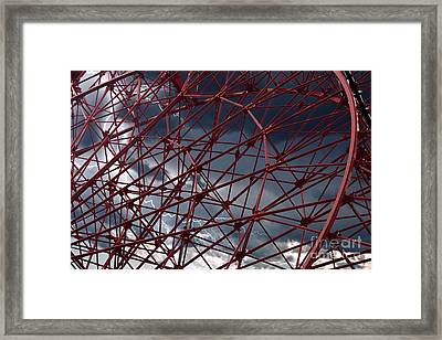 A Fun Day To Ride Framed Print