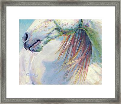 A Gentle Breeze Framed Print by Kimberly Santini