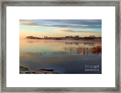 A Gentle Morning Framed Print by Diana Mary Sharpton