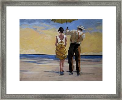 A Gentleman And His Lady Framed Print