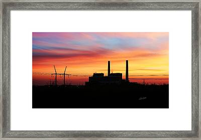 A Gentleman Sunrise Framed Print