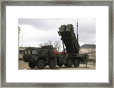 A German Army Patriot Surface-to-air Framed Print