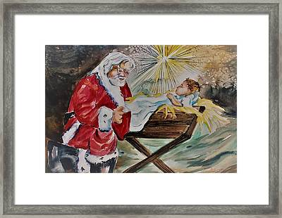 A Gift Framed Print by Mindy Newman