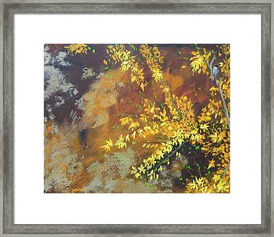 A Gift To The Giver Framed Print by Sue Furrow