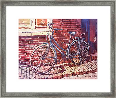 A Girl's Best Friend Framed Print by Jenny Armitage