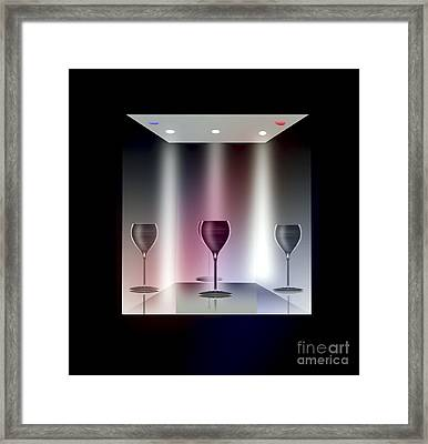 A Glass Act Framed Print
