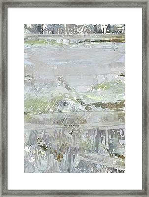 A Glass Half Full Framed Print