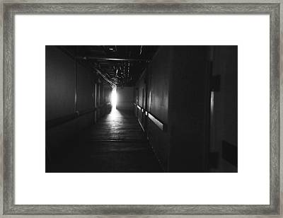 A Glimpse Into The Future Framed Print