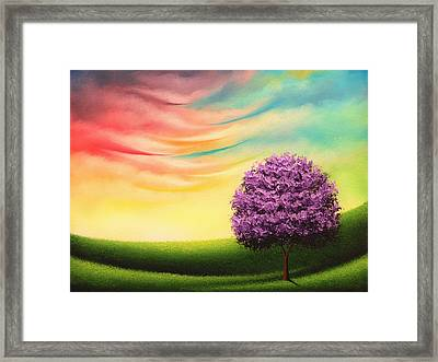 A Glimpse Of Glory Framed Print by Rachel Bingaman