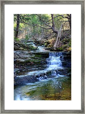 A Glimpse Of Old Oklahoma Framed Print