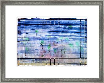 A Glimpse Framed Print by Tom Hefko