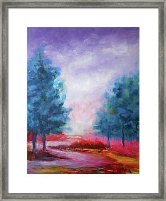 A Glorious Day Framed Print